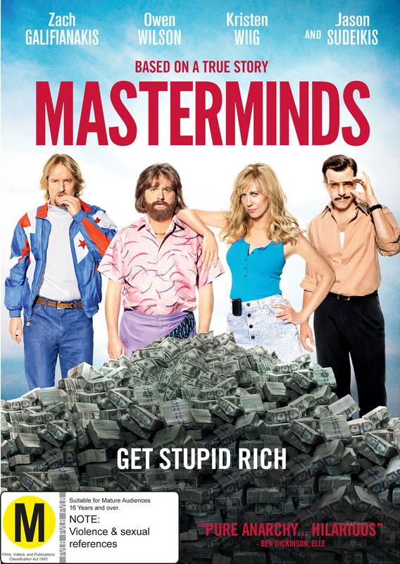 Masterminds on DVD