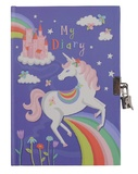 Tiger Tribe: Lockable Diary (Unicorn Rainbow)