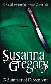 A Summer Of Discontent by Susanna Gregory image