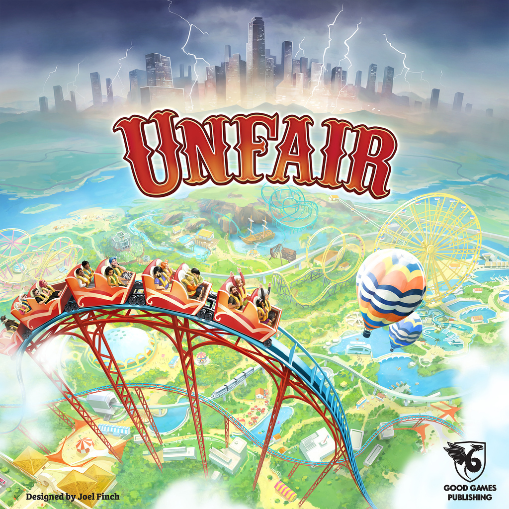 Unfair - Board Game image