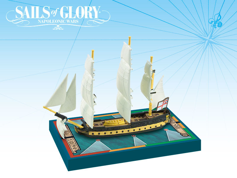Sails of Glory - HMS Africa 1781 / HMS Vigilant 1774 image