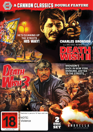 Death Wish 2 & 3 on DVD