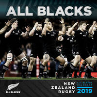 All Blacks 2019 Square Wall Calendar