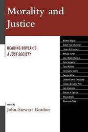 Morality and Justice: Reading Boylan's 'a Just Society' by John-Stewart Gordon image