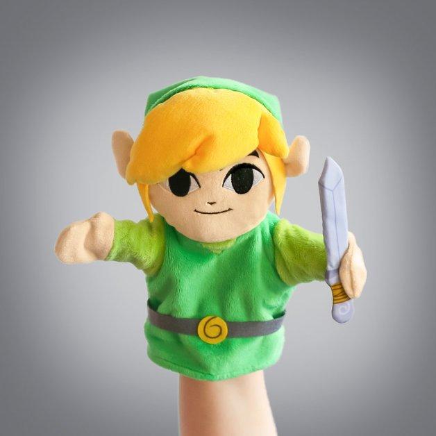 """Legend of Zelda: Link - 10"""" Plush Puppet"""