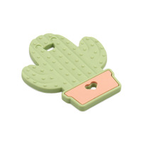 Bumkins: Silicone Teether - Cactus
