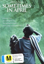 Sometimes In April on DVD image
