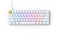Glorious PC Gaming GMMK Compact Mechanical Keyboard (White) (USA - Prebuilt) for PC