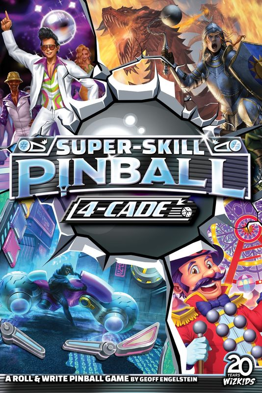 Super Skill Pinball 4 Cade