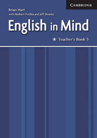English in Mind Level 5 Teacher's Book: Level 5 by Brian Hart image