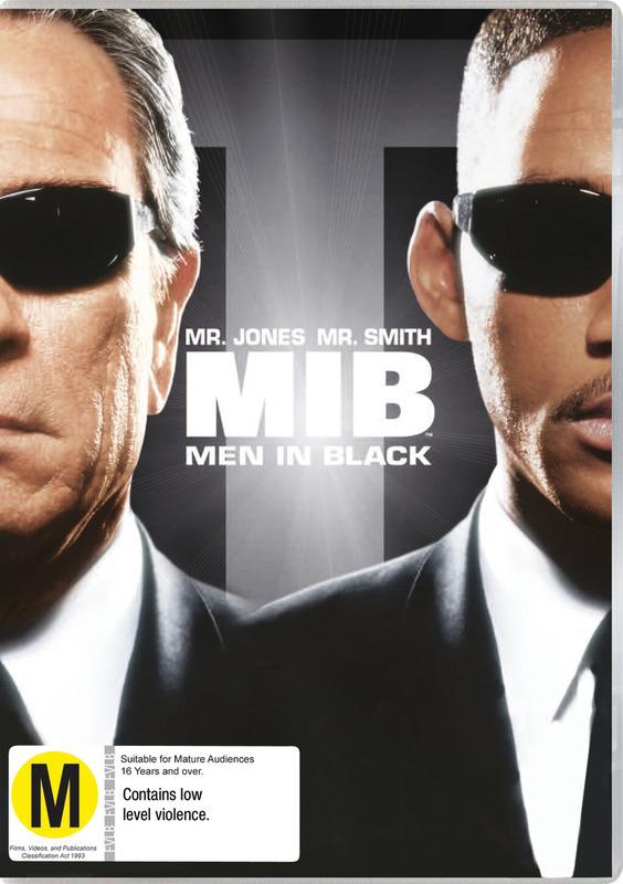 Men in Black (New Packaging) on DVD