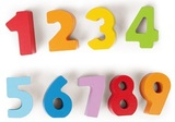 Hape: Wooden Numbers & Colours