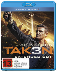 Taken 3 on Blu-ray