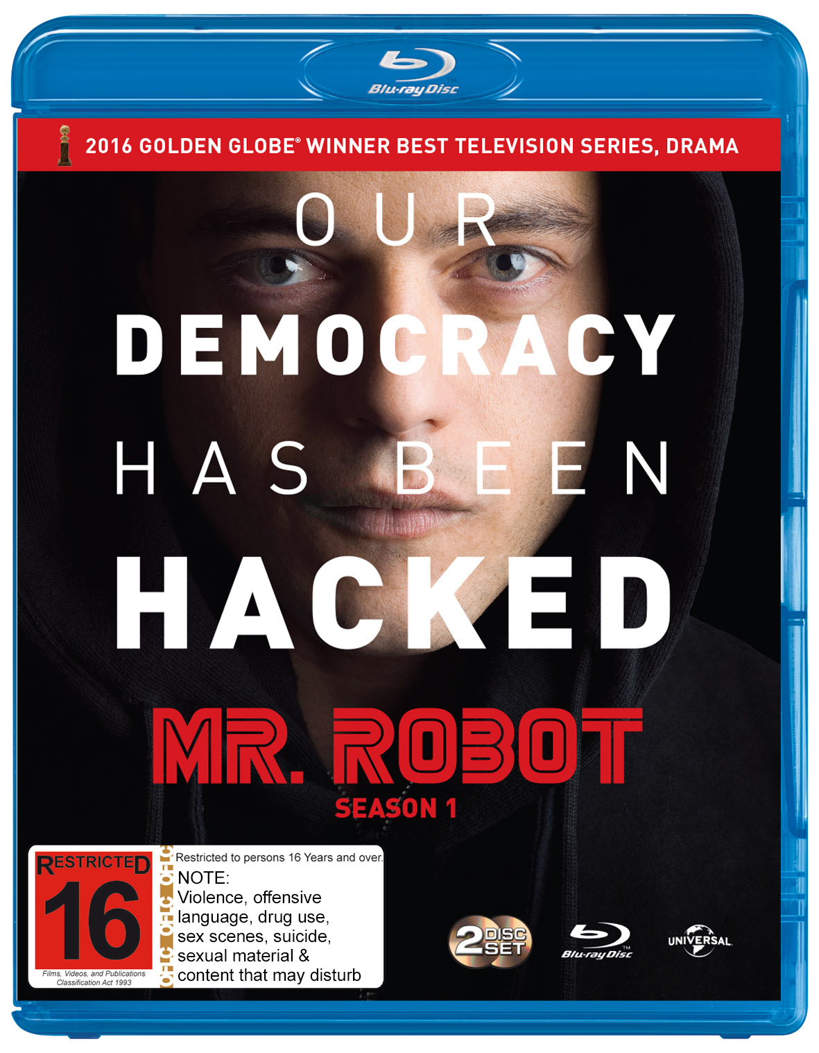 Mr Robot - The Complete First Season on Blu-ray image