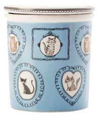 Maxwell & Williams: Purrfect Canister - Blue (500ml)