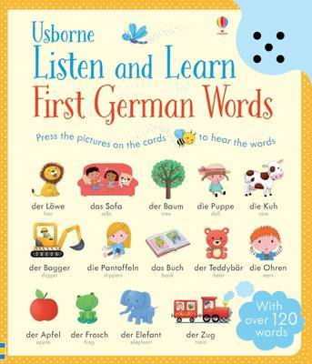 Listen and Learn First Words in German by Sam Taplin