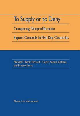 To Supply or To Deny by Michael D. Beck
