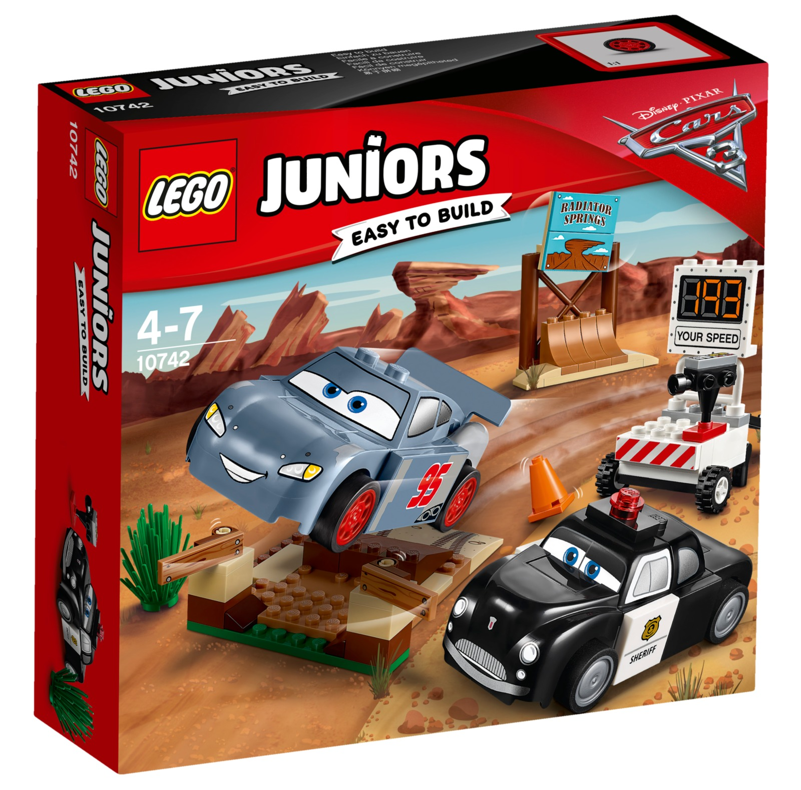 LEGO Juniors - Willy's Butte Speed Training (10742) image