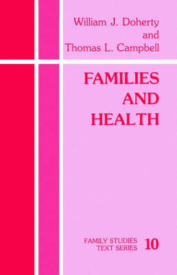 Families and Health by William J. Doherty image
