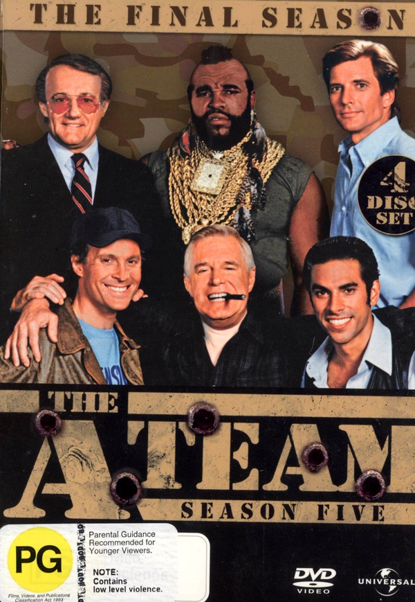 The A-Team - Season 5 -The Final Season (4 Disc Set) on DVD image