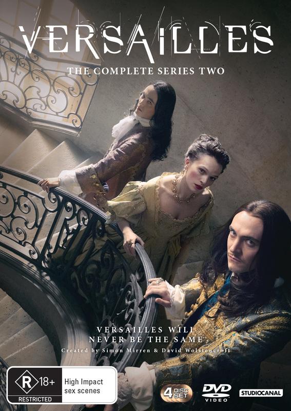 Versailles Season 2 on DVD