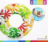 """Intex: 38"""" Transparent Tube - Hawaiian"""