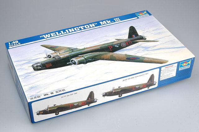 Trumpeter 1/48 Wellington Mk.III - Scale Model image