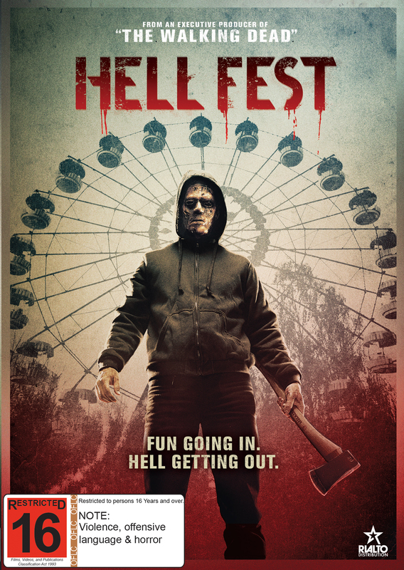 Hell Fest on DVD