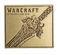 Warcraft Movie: Alliance Sword Collectible Pin