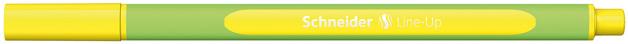 Schneider: Fineliner Line-Up 0.4mm - Neon Yellow