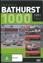 Highlights Of Bathurst 1000 - 1991 / 1992 on DVD