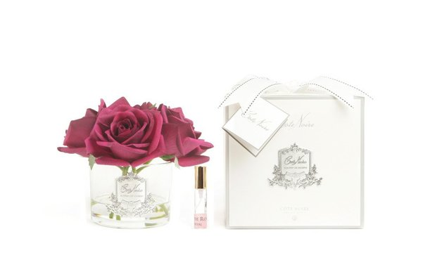 Côte Noire Perfumed Natural Touch Roses (Carmine Red)