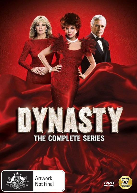 Dynasty: The Complete Series (1981-1989) on DVD