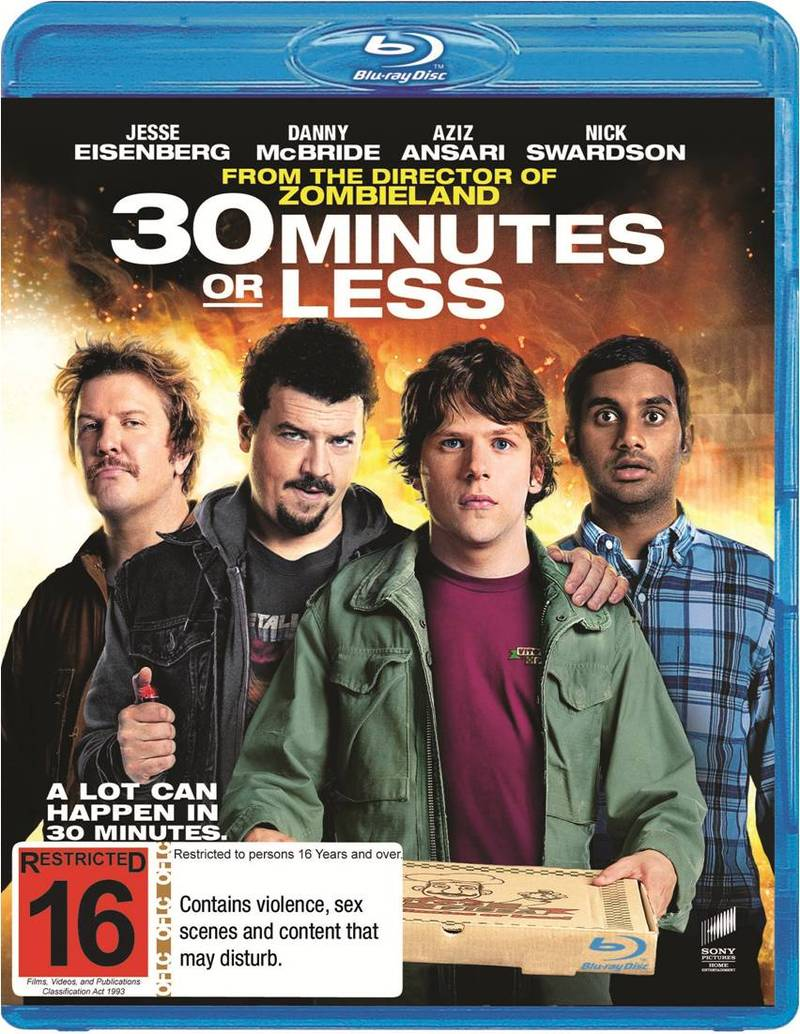 30 Minutes or Less on Blu-ray image