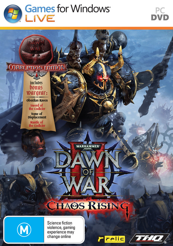 Warhammer 40,000: Dawn of War II - Chaos Rising Corruption Edition for PC Games