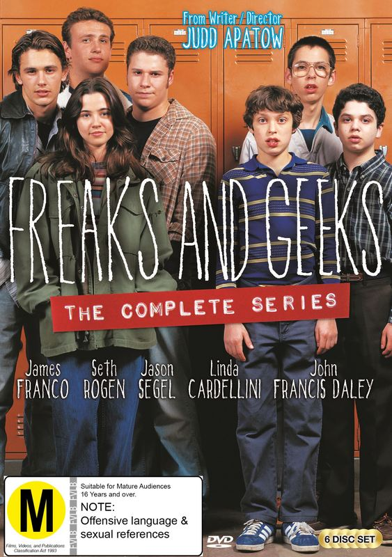 Freaks and Geeks - The Complete Series on DVD