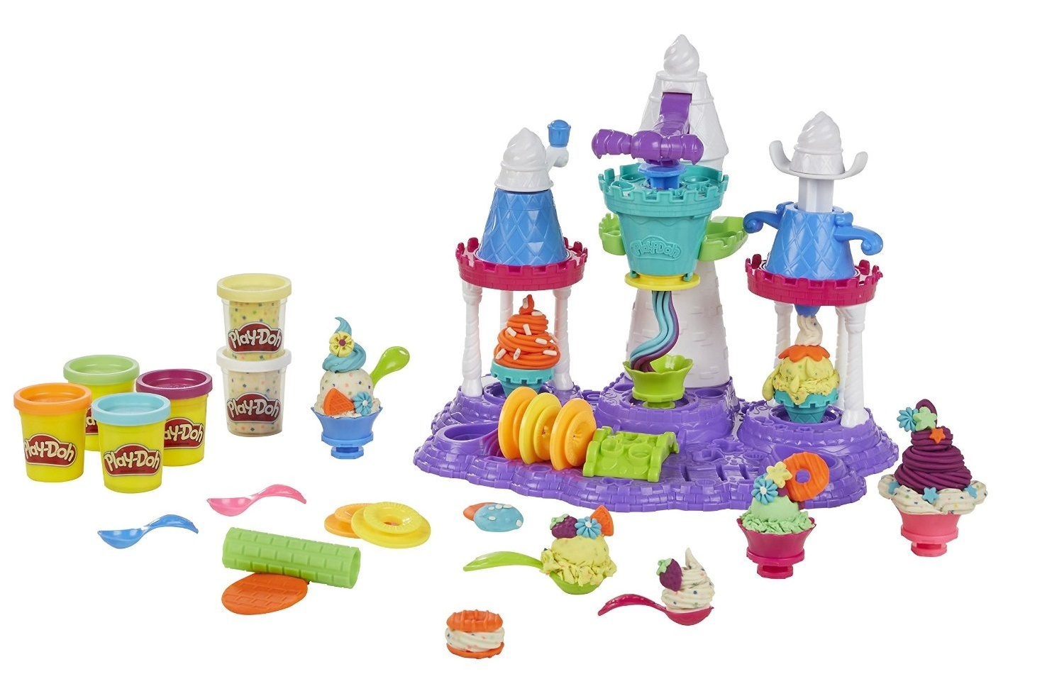 Play-Doh: Sweet Shoppe - Ice Cream Castle Playset image