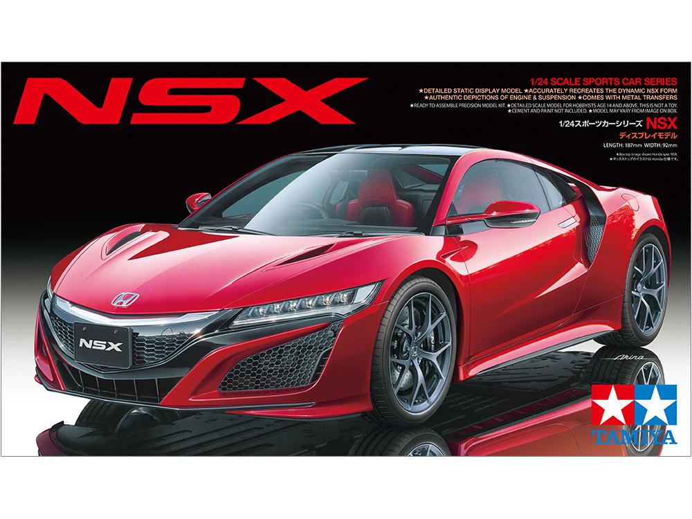 Tamiya NSX 1/24 Kitset Model image