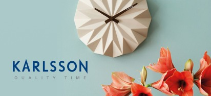 30% OFF Karlsson Clocks!