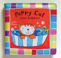Poppy Cat Bath Books: Poppy Cat Loves Bathtime image