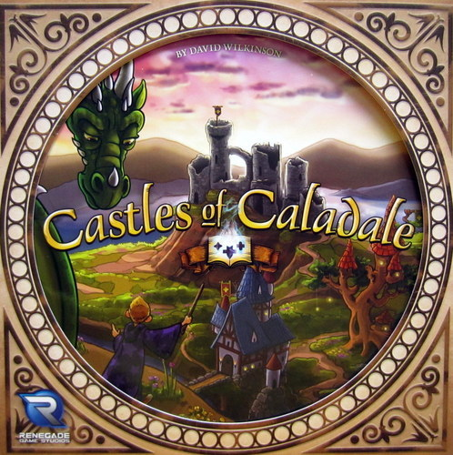 Castles of Caladale - Board Game image