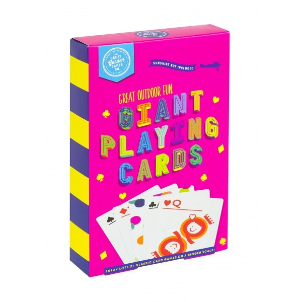 Giant Playing Cards image