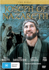 The Bible - Joseph of Nazareth on DVD image