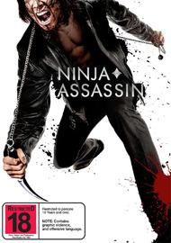Ninja Assassin on DVD