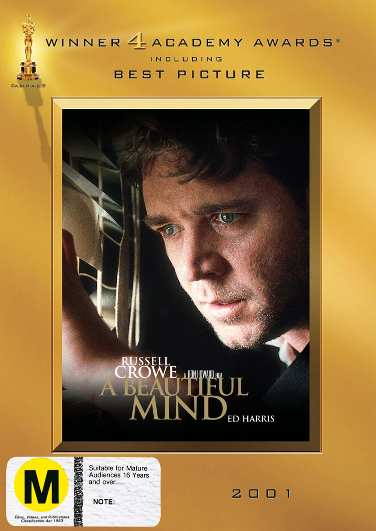 A Beautiful Mind - Awards Edition (Academy Award Winning Collection) (2 Disc Set) on DVD image