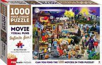 Hinkler: Puntastic 1000-Piece Puzzle - Movies