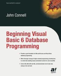 Beginning Visual Basic 6 Database Programming by John Connell image