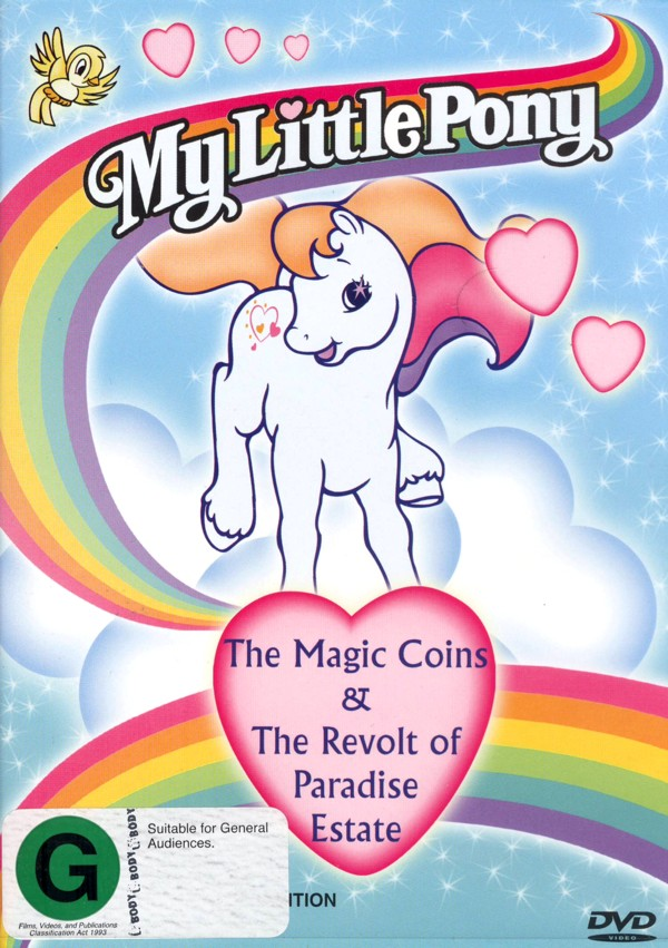 My Little Pony - The Magic Coins & The Revolt  of Paradise Estate on DVD image