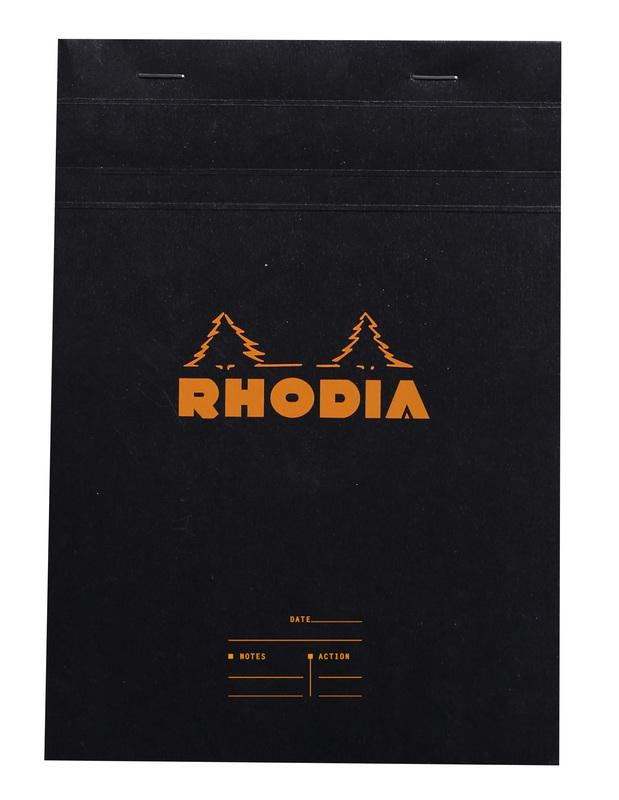 Bloc Rhodia A5 Black - Meeting Pad