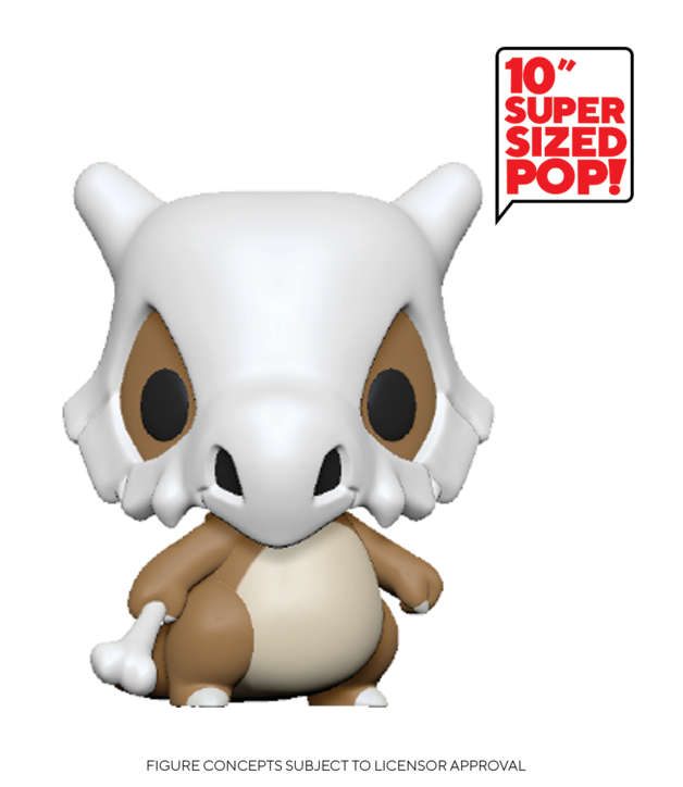 "Pokemon: Cubone - 10"" Super Sized Pop! Vinyl Figure"